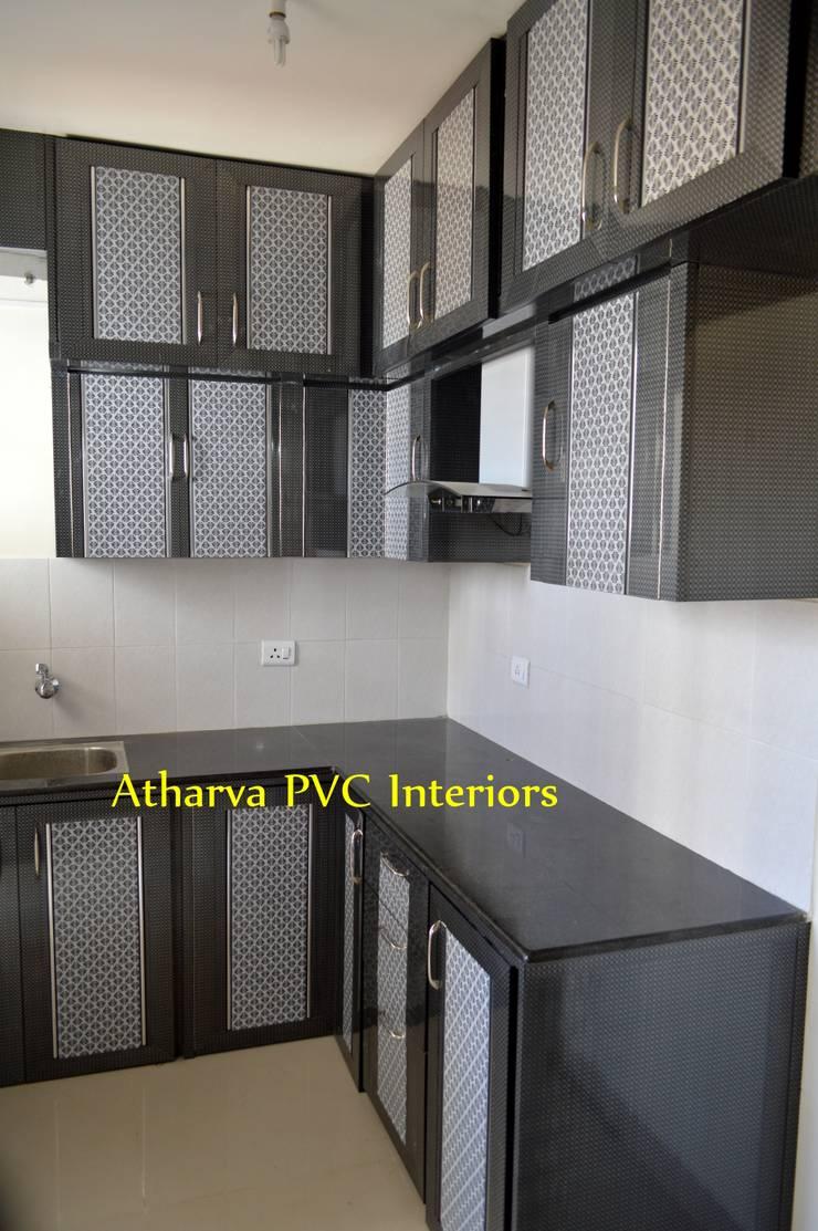 PVC Modular Kitchen: modern  by Atharva PVC Interiors,Modern Plastic
