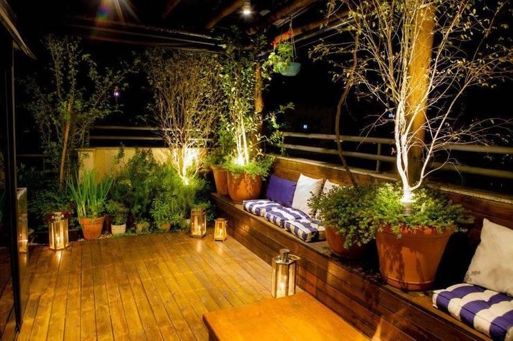 Jardines de estilo moderno por Felipe Mascarenhas Paisagismo