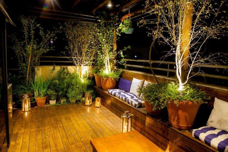 Jardines de estilo  por Felipe Mascarenhas Paisagismo