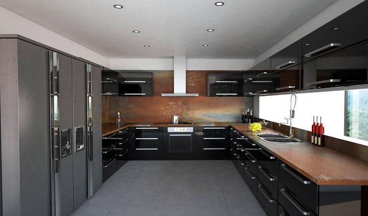 Cocina: Cocinas de estilo  por Vivian Dembo Arquitectura