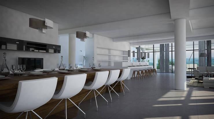 Comedor: Comedores de estilo  por Vivian Dembo Arquitectura