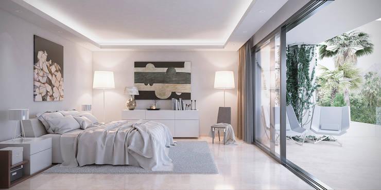 Bedroom by DIKA estudio