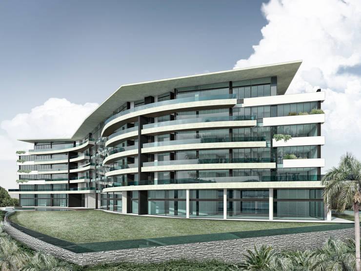 Lomasola: Casas de estilo  por Vivian Dembo Arquitectura