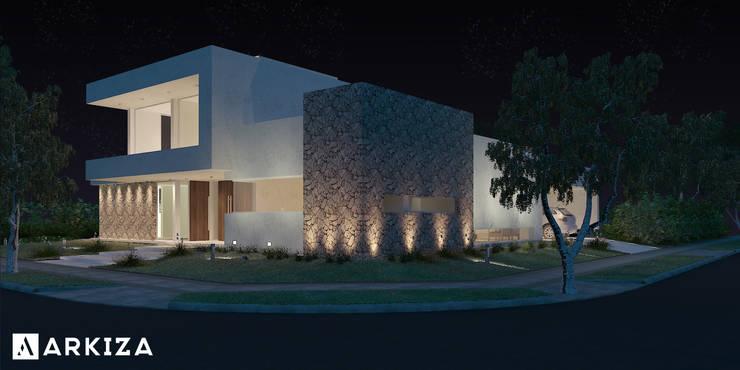Vivienda LL - Manzanar Millenium, Cipolletti, Río Negro: Casas de estilo  por ARKIZA