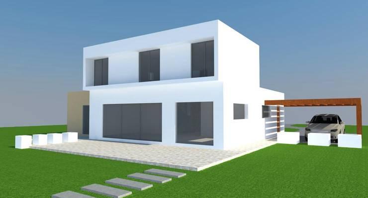 CASA EN PADRE HURTADO: Casas de estilo  por H2H arquitectos