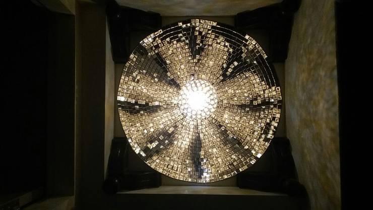 Glass Mosaic Dome:  Artwork by Alaya D'decor