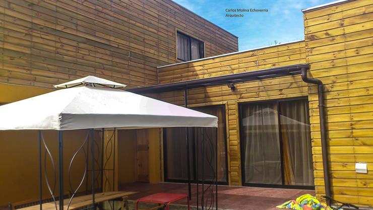 Casa Fuentes. Constitución. Chile: Casas de estilo  por CM Arquitecto