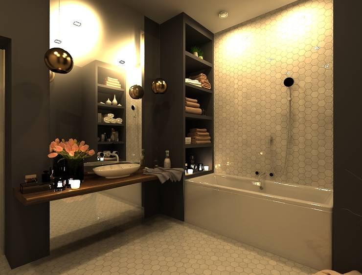 Baños de estilo  por AM Design