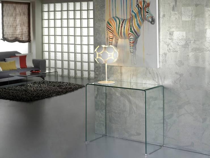 modern  by Intense mobiliário e interiores;, Modern Glass