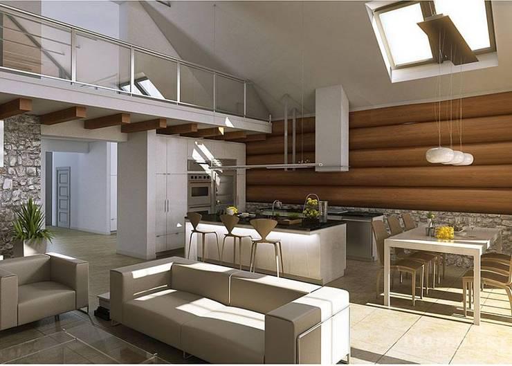 Livings de estilo  por LK&Projekt GmbH