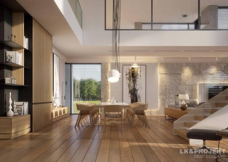 Modern dining room by LK&Projekt GmbH Modern