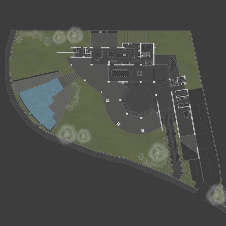 Casa 3: Casas de estilo  por Vivian Dembo Arquitectura