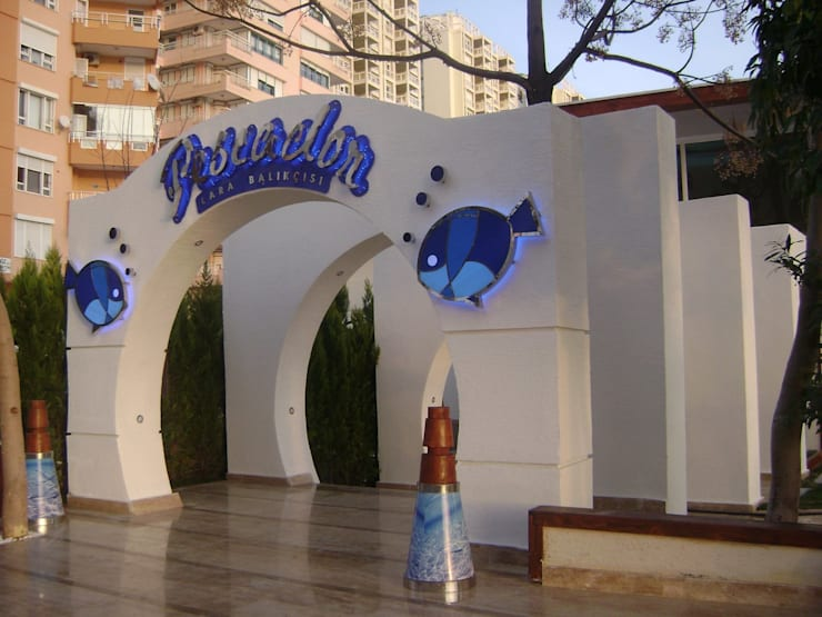 Attelia Tasarim – Pescador Restoran :  tarz Yeme & İçme