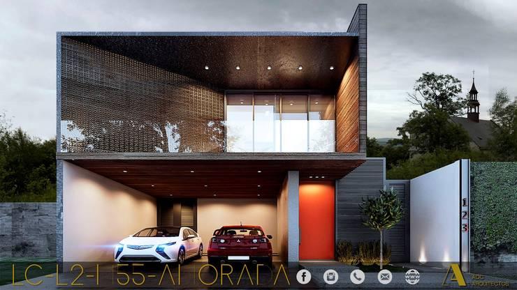 LG/L2/M55/AMORADA : Casas de estilo  por ADC arquitectos , Industrial