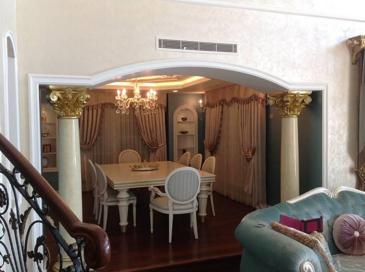 غرفة السفرة تنفيذ Attelia Tasarim