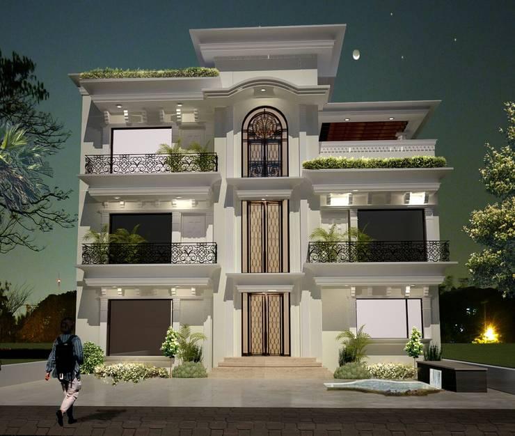 Interior Architecture:   by Kapilaz Space Planners & Interior Designer