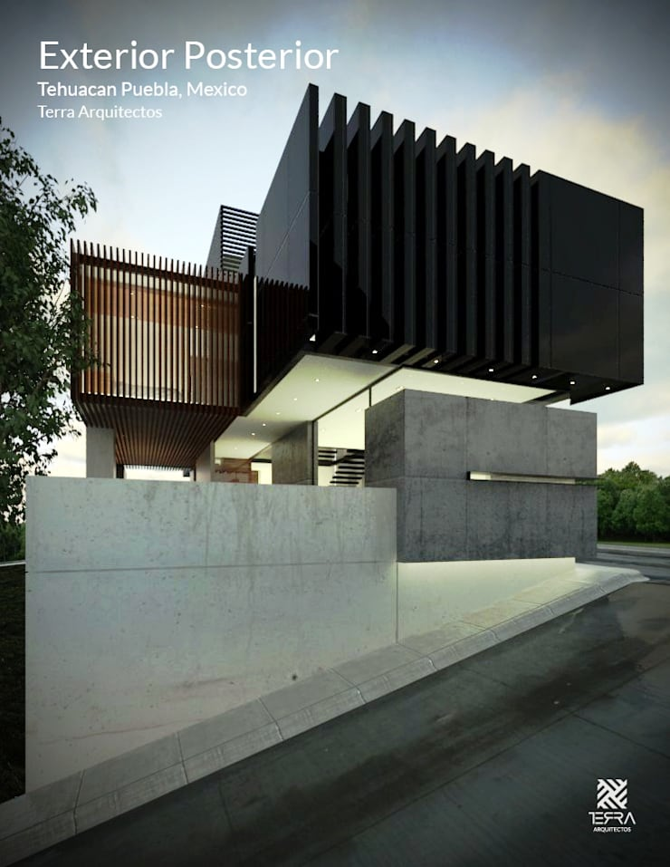 Houses by Fermin de la Mora