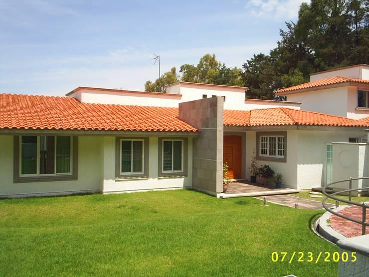 Fachadas de casas estilo r stico en m xico for Fachadas de ladrillo rustico