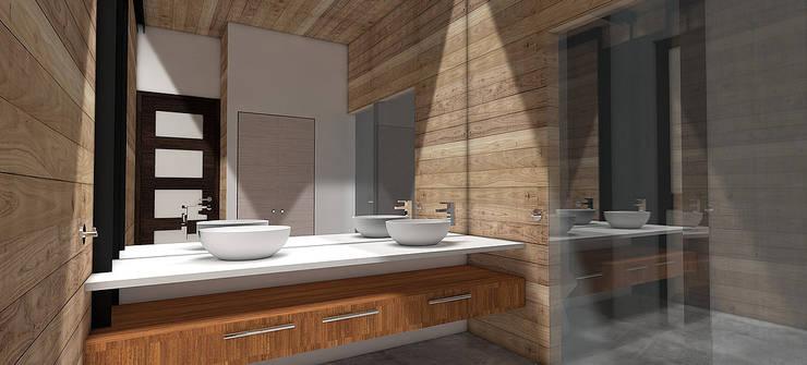 Casa MB: Baños de estilo  por Smartlive Studio