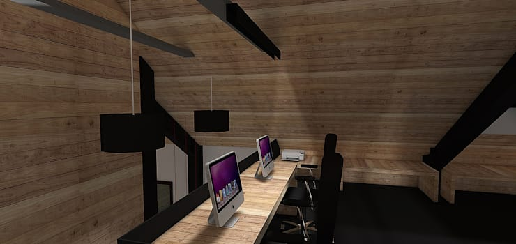 Casa MB: Estudios y biblioteca de estilo  por Smartlive Studio