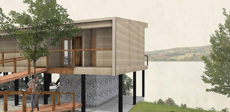 Casa CZ: Casas de estilo  por Smartlive Studio