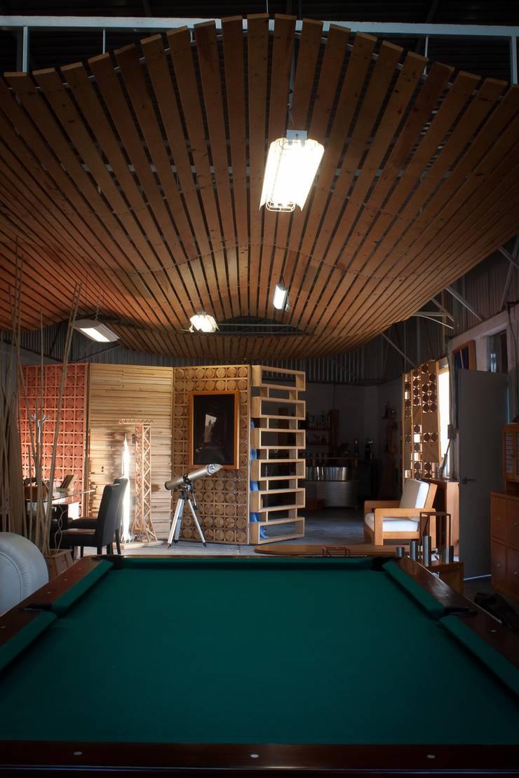 Plafon de madera :  de estilo  por Stann Designs S.A de C.V., Moderno