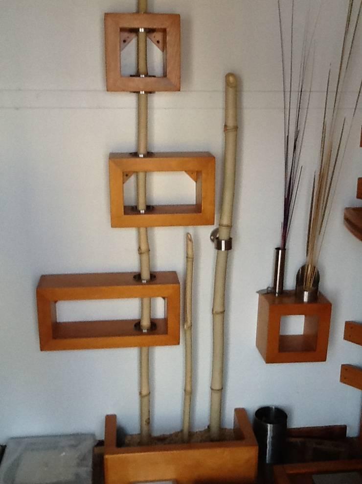 Repisa de madera:  de estilo  por Stann Designs S.A de C.V., Moderno