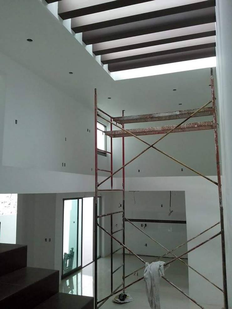 Detalles de Obra en Pachuca,Hidalgo, México.: Casas de estilo  por ARQGC GRUPO CONSTRUCTOR