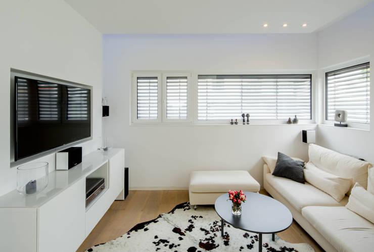 Медиа комнаты в . Автор – Ferreira | Verfürth Architekten