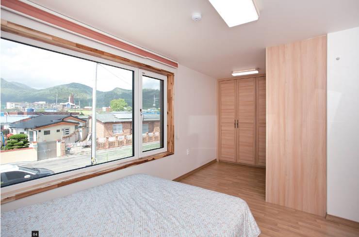 남문동주택: DESIGN LABS. 3의  침실
