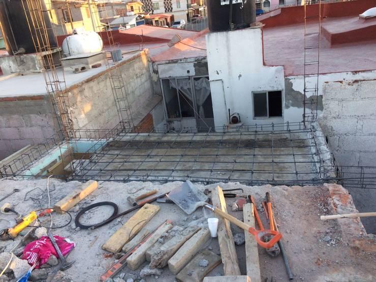Proyecto Nuevo Construcción de Casa Habitación: Casas de estilo  por ARQGC GRUPO CONSTRUCTOR, Minimalista