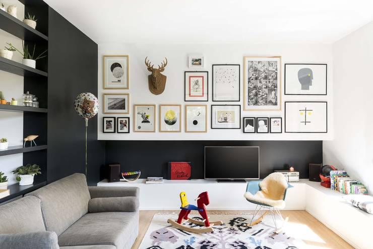 Salas / recibidores de estilo  por studio wok
