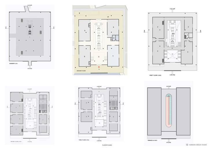 GENERAL ARRANGEMENTS:   by Horizon Design Studio Pvt Ltd