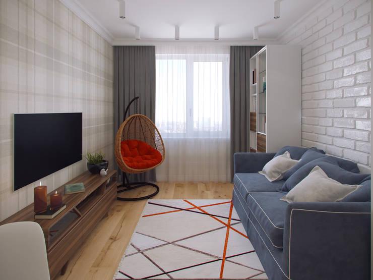 Nursery/kid's room by Студия дизайна интерьера Маши Марченко