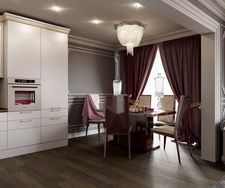 ห้องครัว โดย Студия дизайна интерьера Маши Марченко, คลาสสิค