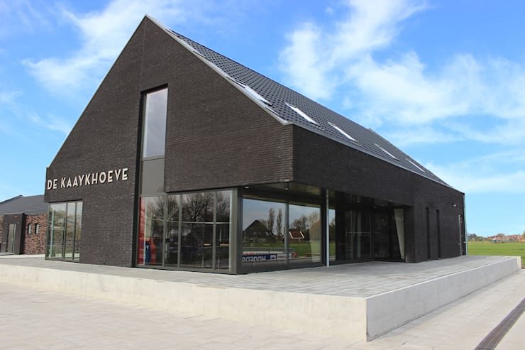 Sport en evenementen:  Evenementenlocaties door Kuiper Steur architecten BNA, Modern