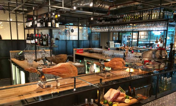 Grand Central Food Market | Interieur Ontwerp Bar – Restaurant:  Gastronomie door Tubbs design