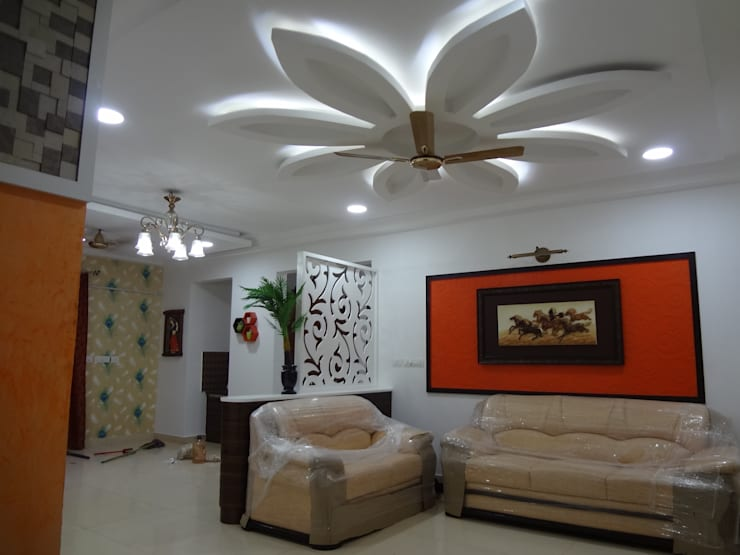 Sai Decors -  complete home interior designs @ rs1190/sqft:   by Sai Decors