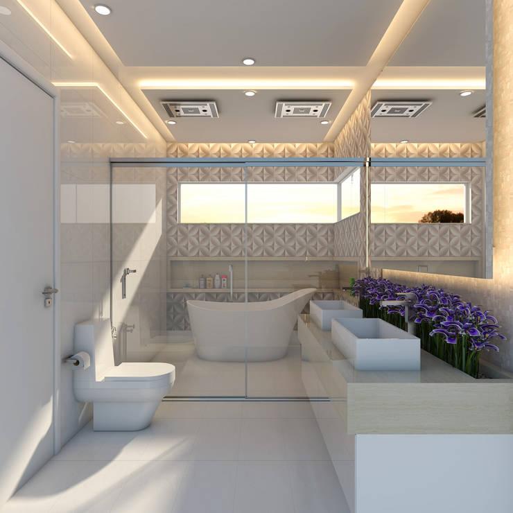 Bathroom by Caio Pelisson - Arquitetura e Design
