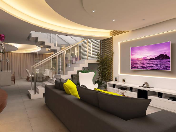 Living room by Caio Pelisson - Arquitetura e Design