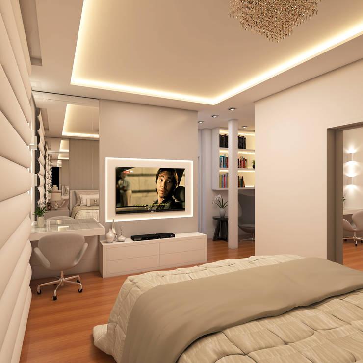 Bedroom by Caio Pelisson - Arquitetura e Design