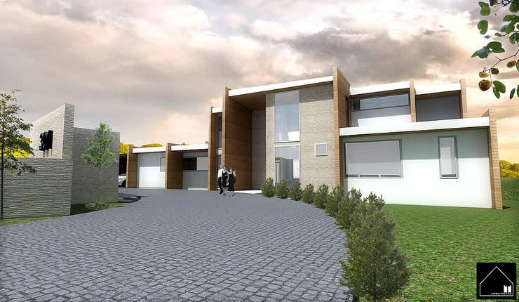 Casa MT: Casas de estilo  por Smartlive Studio