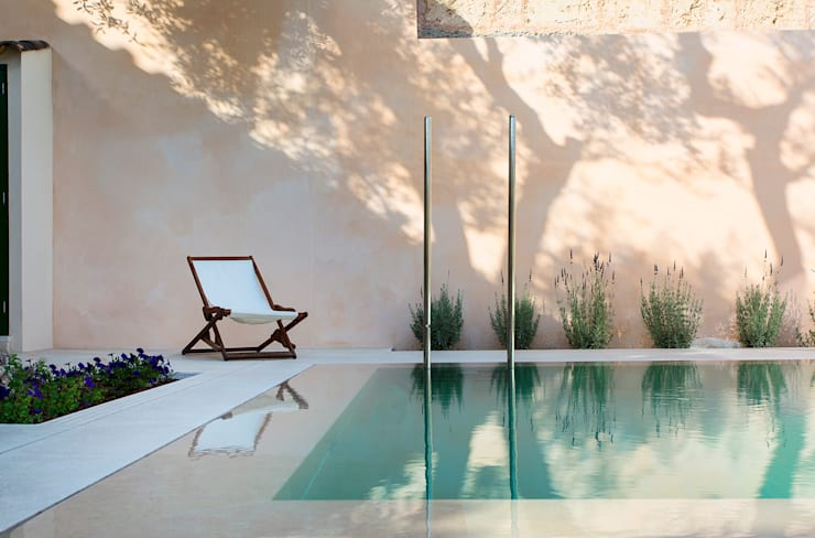 Swimming pool designs:  Pool by Tono Vila Architecture & Design