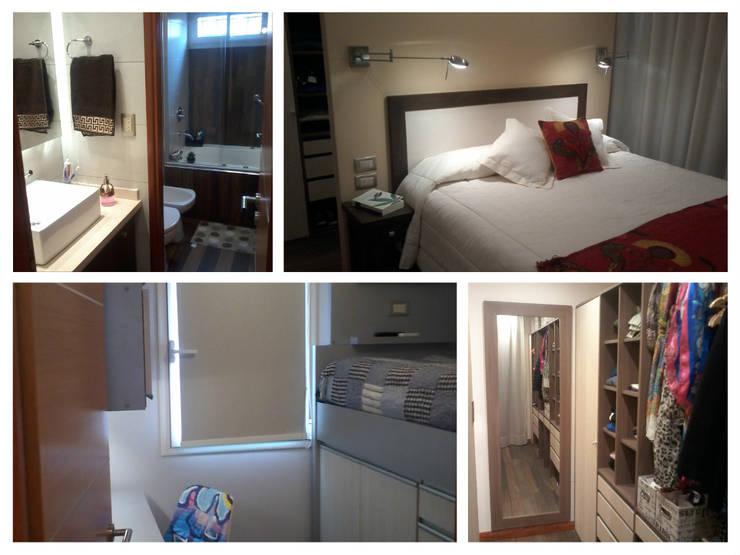 Anticipo de los espacios a recorrer: Dormitorios de estilo  por D&C Interiores,