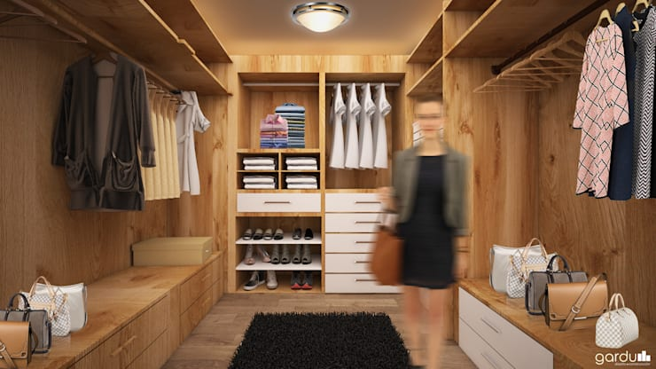 Dressing room by GarDu Arquitectos