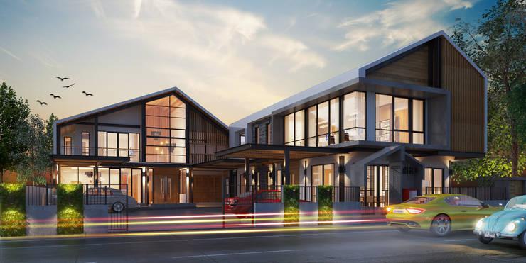 NHO PROJECT:  กำแพง by  good space  plus interiror- architect co.,ltd