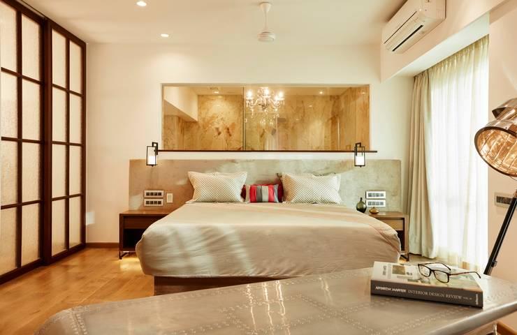 masterbedroom: modern Bedroom by Interface