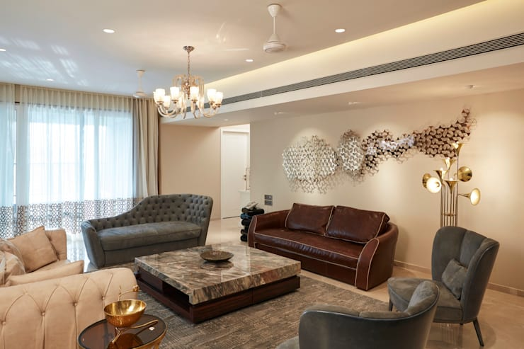 formal living room:  Living room by Interface