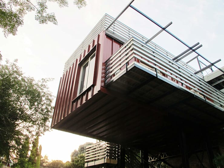 Cantilever :  Houses by A4AC Architects