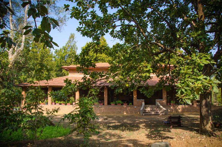 Homestay in Kanha National park, Madhya Pradesh:  Houses by M+P Architects Collaborative